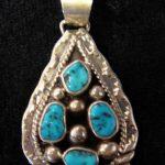 coral pendant necklace