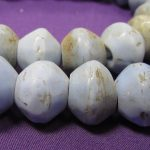 African Trade Beads, Venetian, Sky Blue