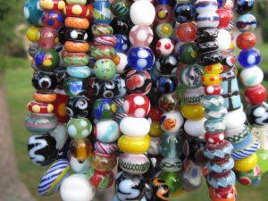 Indonesian Lampwork Glass beads