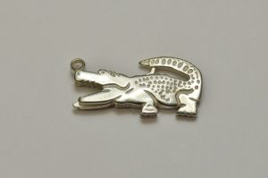 Sterling Silver Clasp Alligator
