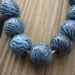 indonesian glass lampwork beads