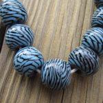 indonesian glass lampwork beads