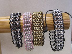 "Bead Class: ""Afterburn"" Leather Bracelet @ Bead World, Inc. 