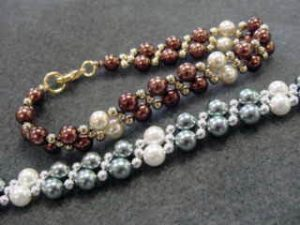 BEAD CLASS - TWO NEEDLE WEAVE Bracelet @ Bead World | Palatine | Illinois | United States