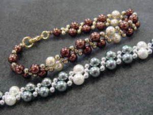 BEAD CLASS - TWO NEEDLE WEAVE Bracelet @ Bead World   Palatine   Illinois   United States