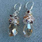 Bead Classes - Swarovski Wrap Earrings Dec. 11, 6:30pm
