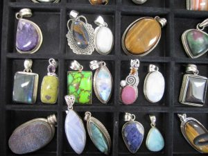 Gemstone pendant sale