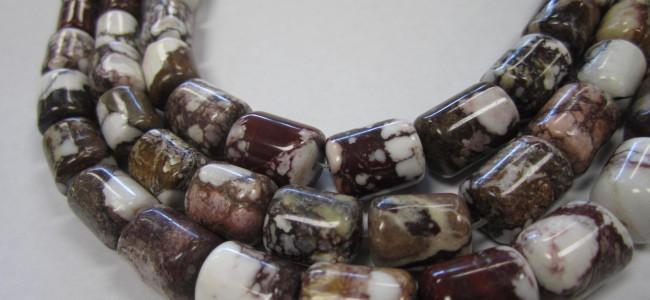 Wild Horse Beads - Graduated Tube Strand