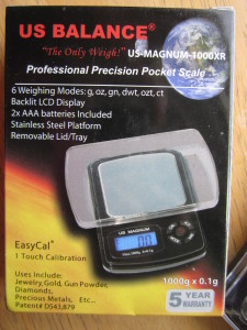 US-MAGNUM 1000XR Pocket Scale by US Balance