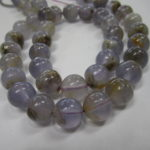 Natural Chalcedony Round Beads 10mm