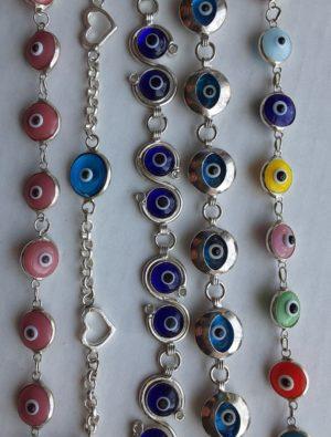 Evil Eye Bracelets - Sterling silver