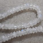 Moonstone Smooth Rondelles